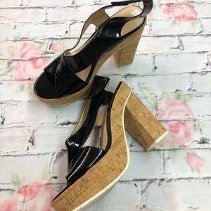 Calvin Klein Open Toe Heels Size 11